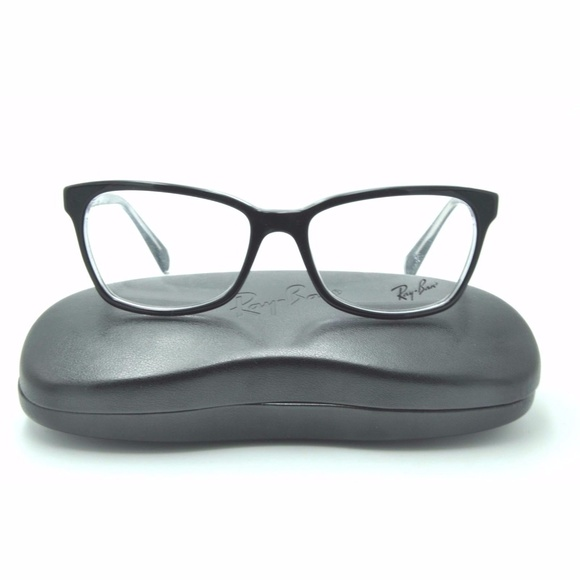 clear frame ray ban eyeglasses